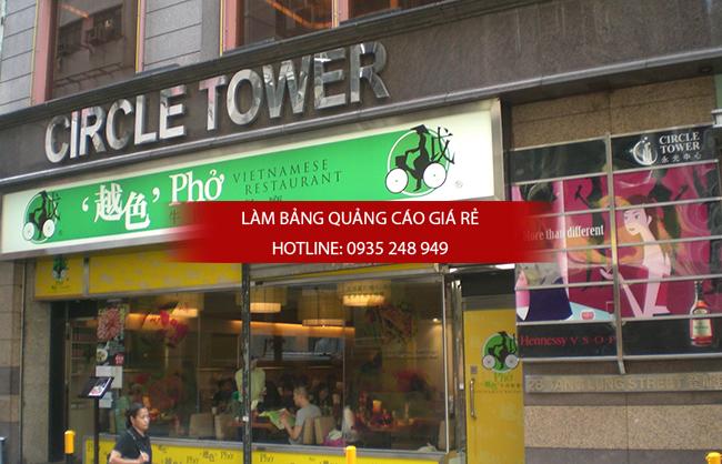Làm bảng hiệu quận Tân Phú