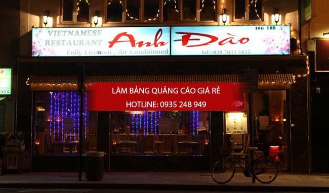 mẫu bảng hiệu nhà hàng đẹp