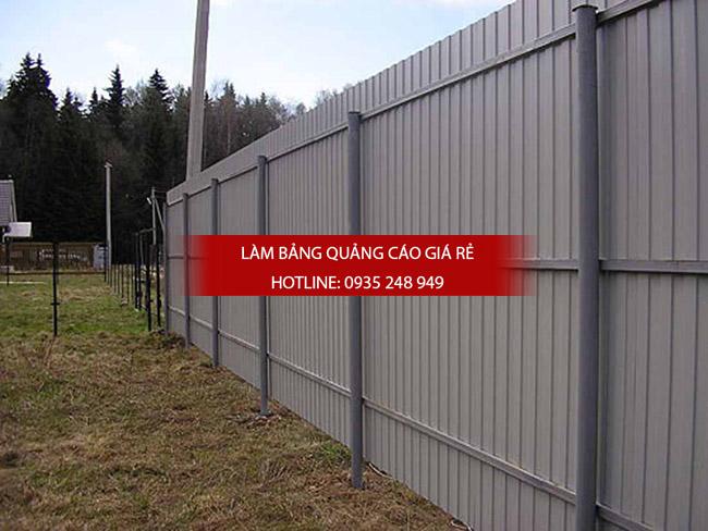 thi công hàng rào công trình