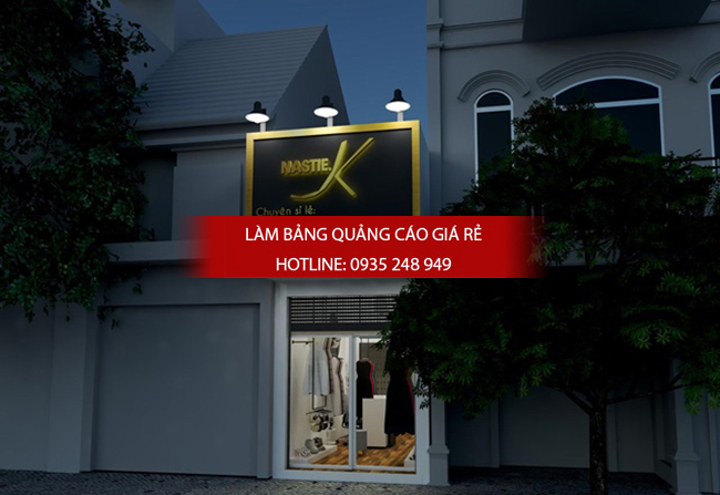 Làm bảng hiệu cửa hàng thời trang