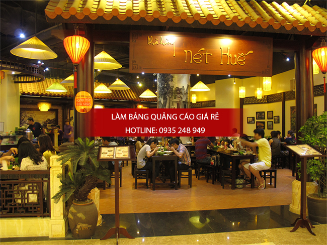 Mẫu bảng hiệu đẹp dành cho nhà hàng
