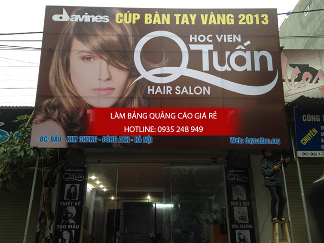 thi công làm bảng hiệu salon tóc