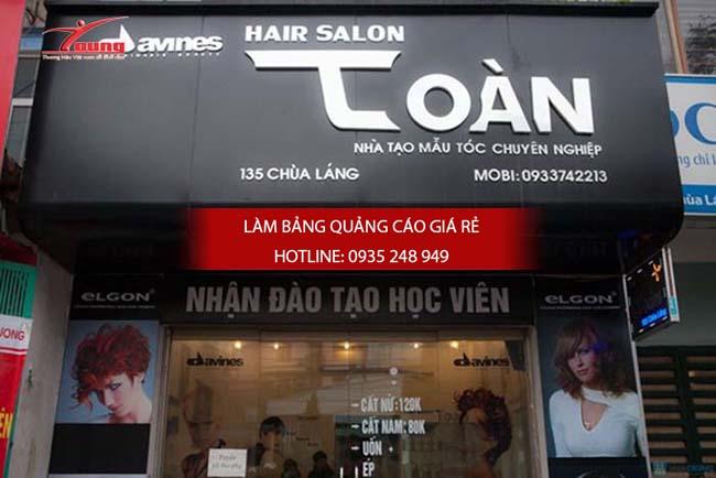 Mẫu bảng hiệu salon tóc đẹp