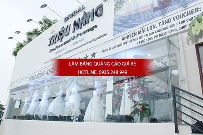 mẫu bảng hiệu áo cưới đẹp