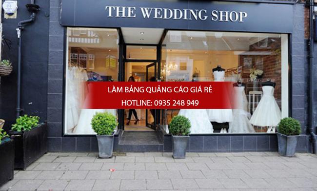 Làm bảng hiệu studio áo cưới đẹp