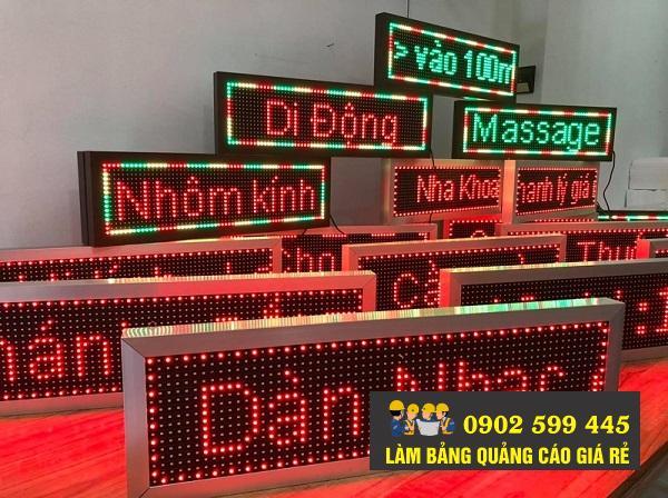 bảng hiệu quảng cáo led
