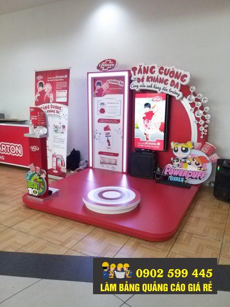 Thi công booth activition