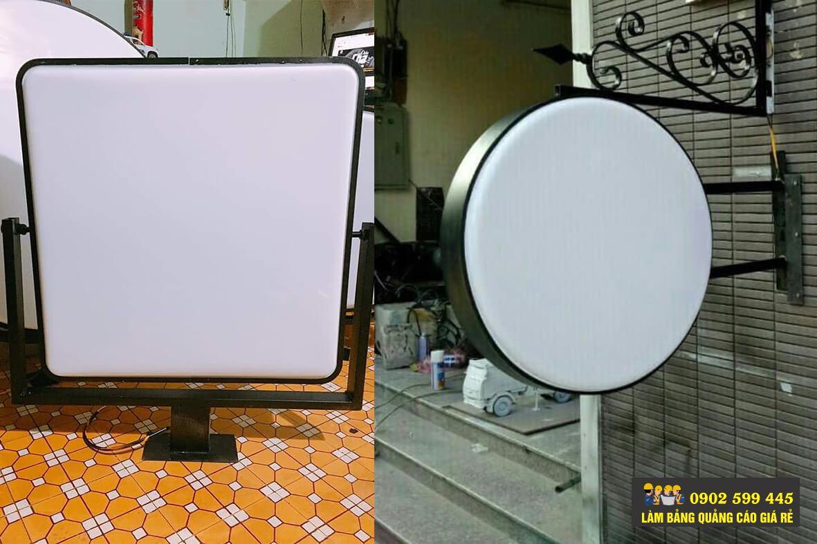 Sản xuất hộp đèn hút noỏi mica