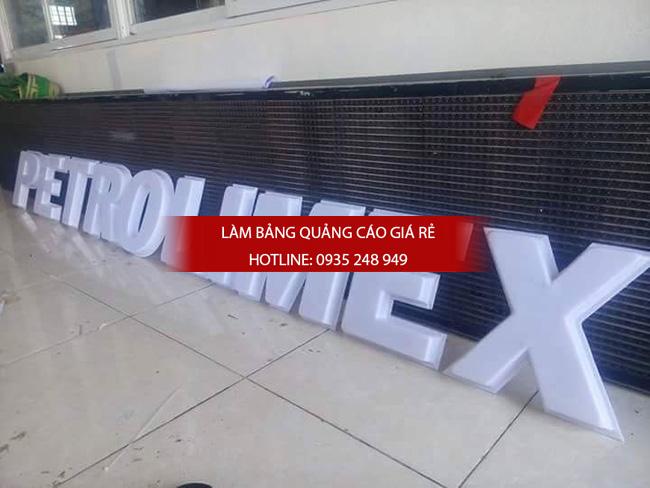 bang hieu cay xang 2 - Làm bảng hiệu cây xăng
