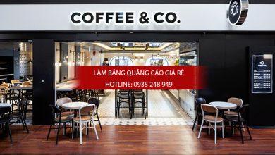 mẫu bảng hiệu quán cafe đẹp